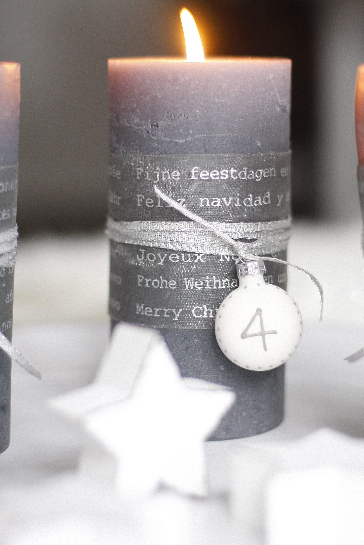 Adventskranz mit Sternen selber machen I DIY Adventskranz