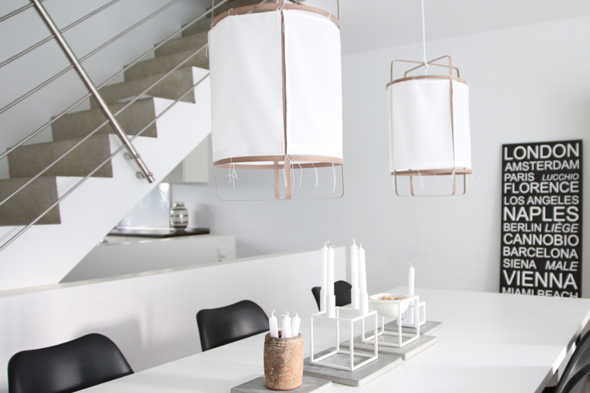Lampen DIY: CottonLights by Anja | Raumkrönung ...