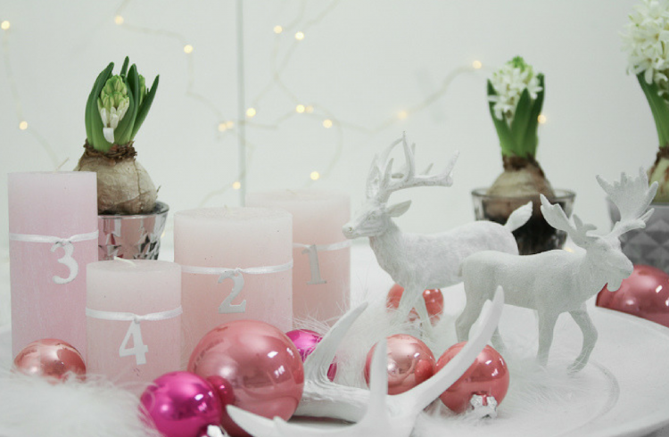 Adventskranz-Alternative-schnelles-DIY-schnelle-Idee-Advent-Rosa-Elch-Geweih