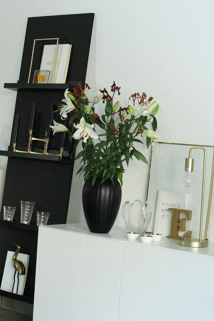 Wohnzimmer gestalten Idee Deko Glam Look