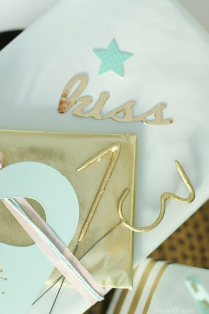 Teeniegeburtstag Geschenke verpacken DIY