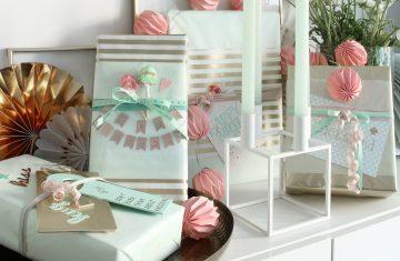 Kindergeburtstag Geschenke Verpacken DIY