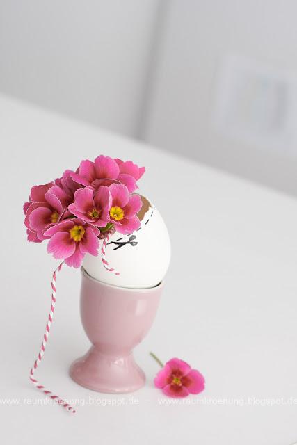 Ostern Osterei Frühling Blumen