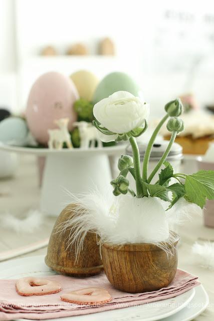 Rezept für den besten Rhabarberkuchen I Den leckersten Rharbarberkuchen zum Osterbrunch und tolle Ideen für die Tischdeko