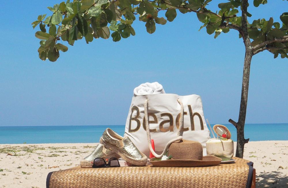 DIY Nähen Strand Tasche Urlaub