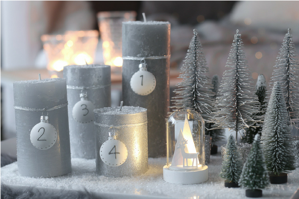 DIY-schnelle-Adventskranz-Alternative-schnelles-DIY-Idee-Advent-Tannenwald