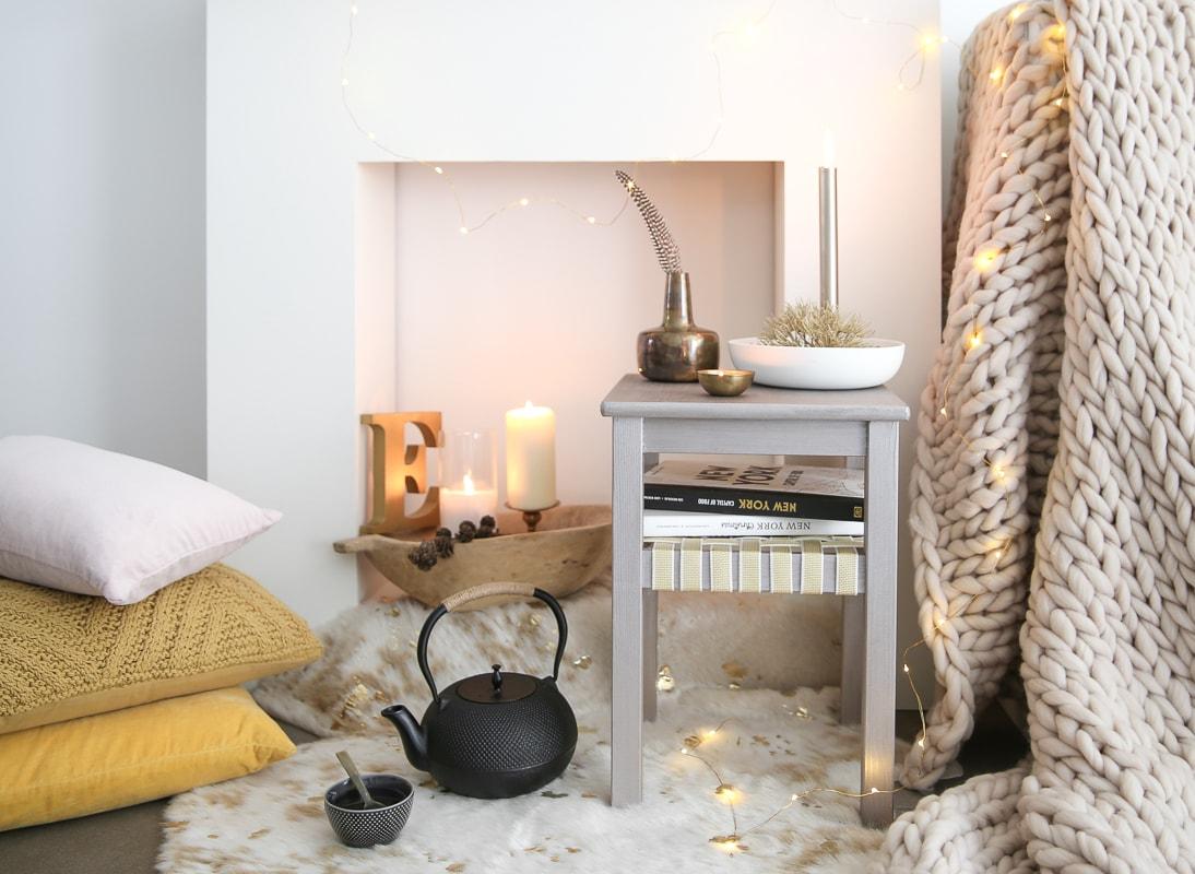 Hygge in Deinem Zuhause und ein IKEA Hack aus Hocker Oddvar