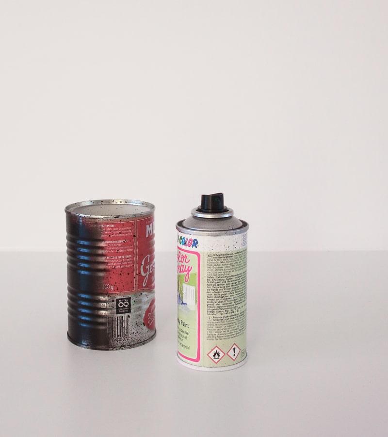 Adventskranz selber machen I DIY Upcycling aus Konservendosen